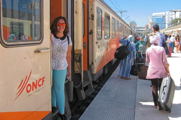 Train is one of the best Morocco transportation