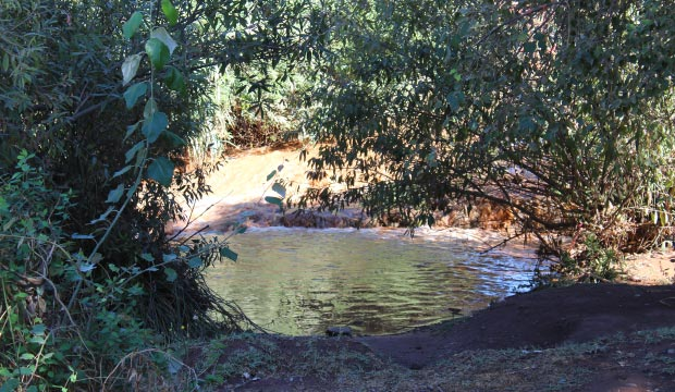 Behind the Ouzoud Falls in Marrakech there is a very bucolic place