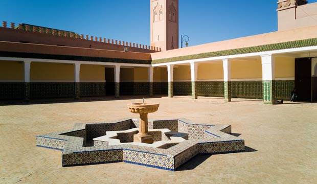 The zawiya of Tamegroute is one of its most remarkable places