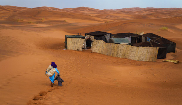 A camp is your answer if you are looking for sleeping in the desert in Morocco