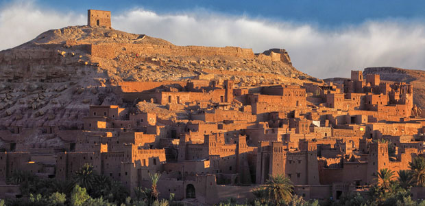 Ait Ben Haddou at the gates of the Sahara desert in Morocco