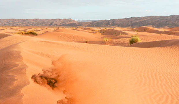 To sleep in the desert in Morocco you can go to Erg Chegaga or Erg Chebbi