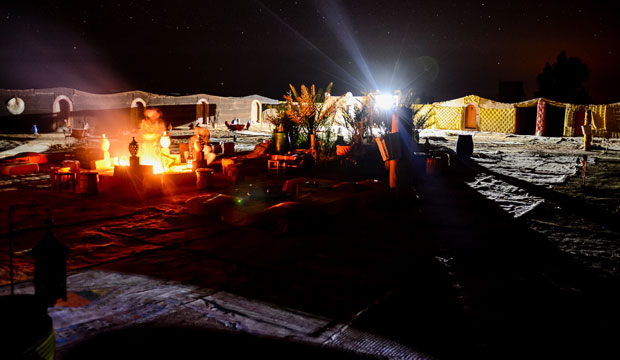 Where to sleep in Merzouga? Without a doubt in a tent