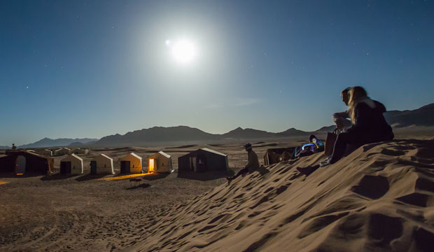 if you want to sleep in a tent in Morocco you must go to Agafay