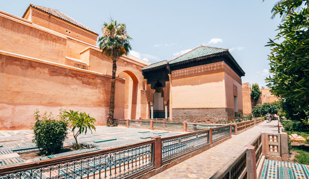 If you want to know what to see in Marrakech in two days you should visit the Saadian Tombs