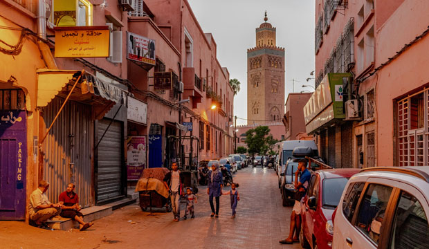 Marrakech, what to do is going to the Koutoubia Mosque