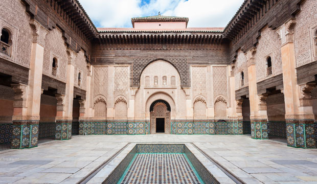 On the thing what is there to see in marrakech is visiting the Ben Youseff Madrasa