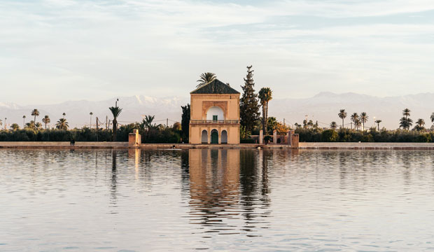 The Menara Gardens is the emptiness to see in Marrakesh favorite for its citizens for recreation
