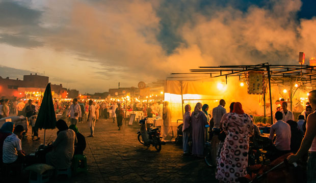 What can you do in Marrakech? You should see Jemaa El Fna Square at night