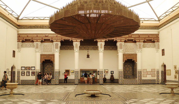 What to see in Marrakech (Morocco)? Probably the Marrakech Museum is a must