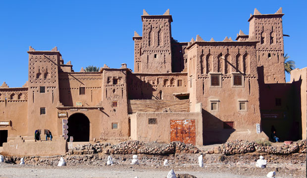 Kasbahs are another kind of accommodation apart from riads and hotels in Morocco