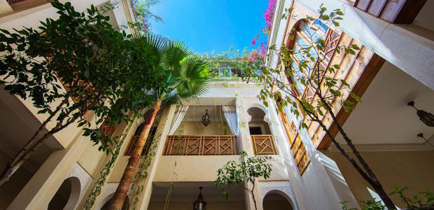 Visit Morocco. What is a riad
