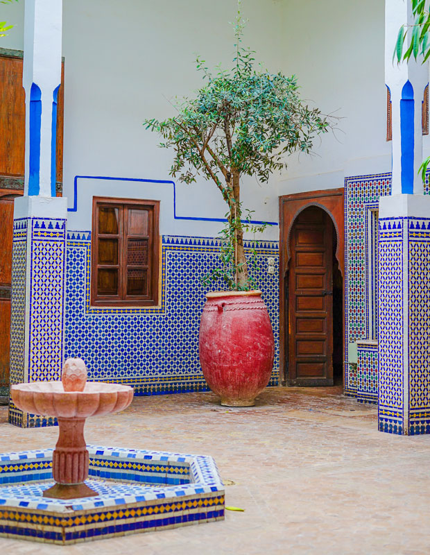 What does riad mean? It means garden in arabic