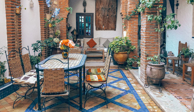 What is riad? Its an accommodation where the treatment with the client is much closer and personalized