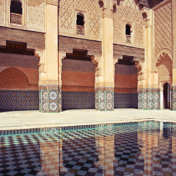 The Story of Sara Marrakech and the Madrasa ben Youssef